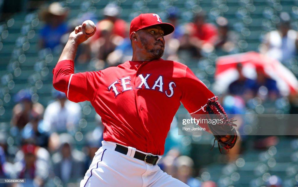 Cleveland Indians v Texas Rangers : News Photo
