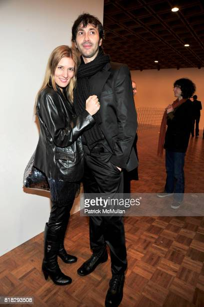 Yovanna Stokic and Boban Jovanovic attend WHITNEY BIENNIAL 2010 VIP Preview at The Whitney Museum on February 23, 2010 in New York City.