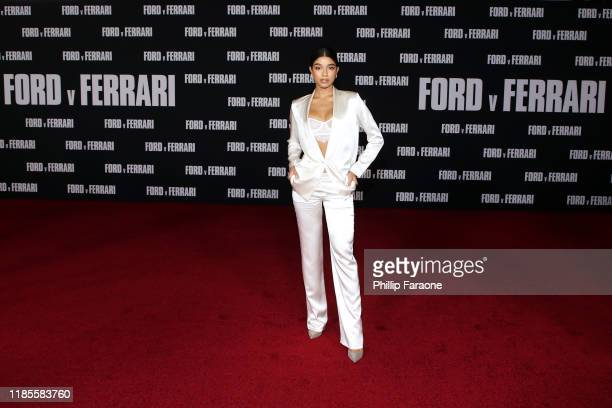 Yovanna Ventura attends the premiere of FOX's Ford V Ferrari at TCL Chinese Theatre on November 04 2019 in Hollywood California