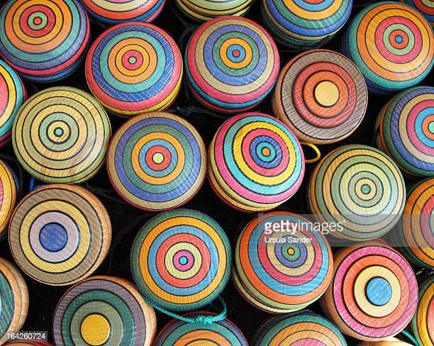 Yoyo brightly colored
