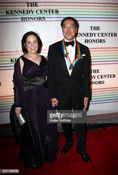 YoYo Ma Jill Hornor arriving for the 34th Kennedy Center Honors Presentation at Kennedy Center in Washington DC on December 4 2011