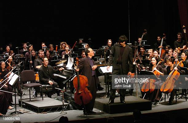 YoYo Ma joins Andrea Morricone conducting USC Thornton Chamber Orchestra
