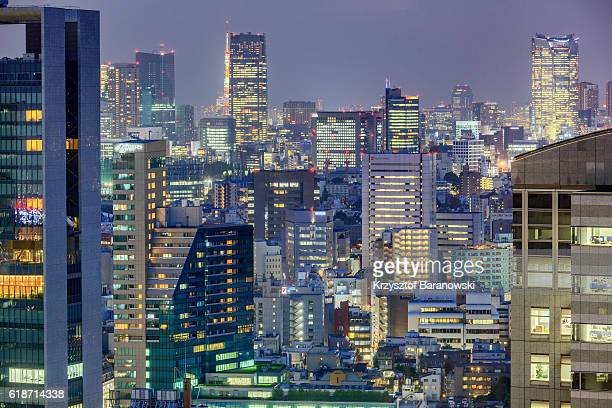 Yoyogi Cityscape at Dusk