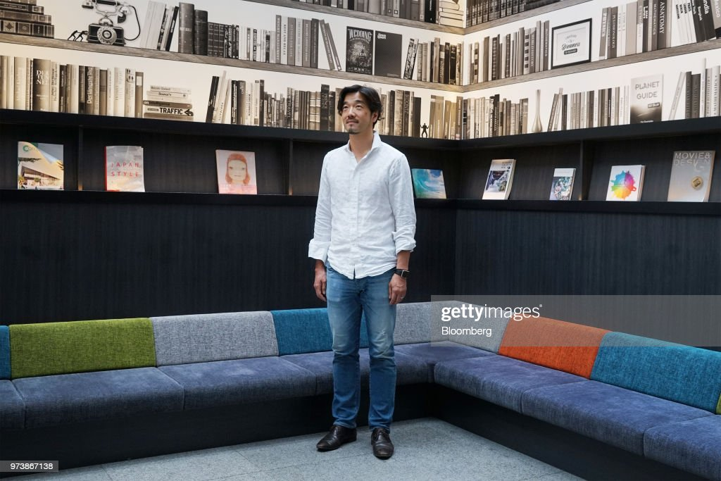 Yozo Kaneko, president and chief operating officer of United Inc., poses for a photograph at the company's office in Tokyo, Japan, on Thursday, May 31, 2018. Mercari Inc.'s $3.7 billion coming-out party will deliver a 149-times return to early investor United Inc., which engineered a 300 million yen ($2.7 million) round in the flea-market app in 2013. That stake will be worth at least 45 billion yen when Mercari goes public June 19, a mega-windfall that may galvanize the No. 3 economy's stunted startup scene. Photographer: Kentaro Takahashi/Bloomberg via Getty Images