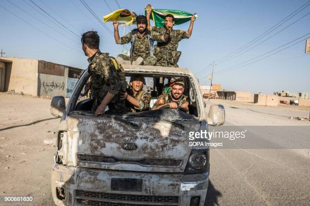 Ypg fighters seen celebrating the liberation of Raqqa The Syrian civil war has been carried on for more than 6 years and it has caused more than...