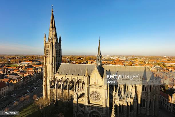 Ypres Cathedral in Belgium