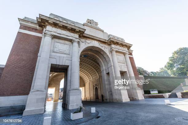 Ypres (Menin Gate) Memorial, West-Flandria, Belgium