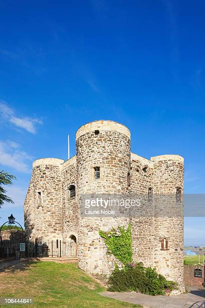 ypres tower rye - castle stock pictures, royalty-free photos & images