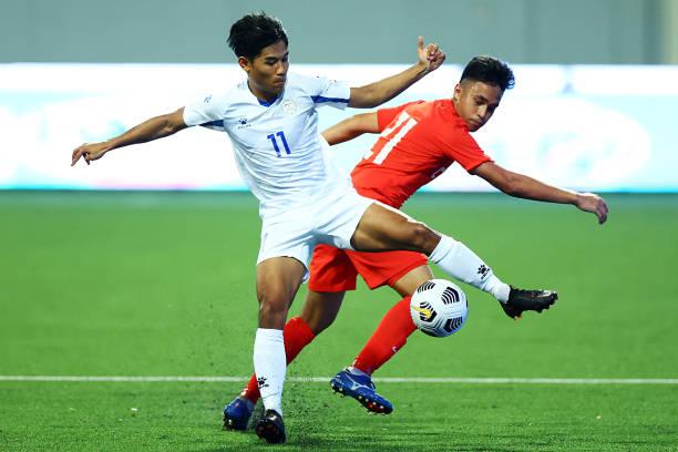 SGP: Philippines v Singapore - AFC U-23 Asian Cup Qualifier Group H