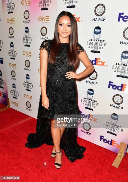 Ysa Penarejo at the 49th NAACP Image Awards NonTelevised Awards Dinner at the Pasadena Conference Center on January 14 2018 in Pasadena California