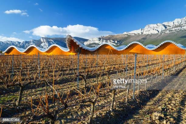Ysios wine cellar Laguardia Rioja Alavesa Alava Basque Country Spain Europe