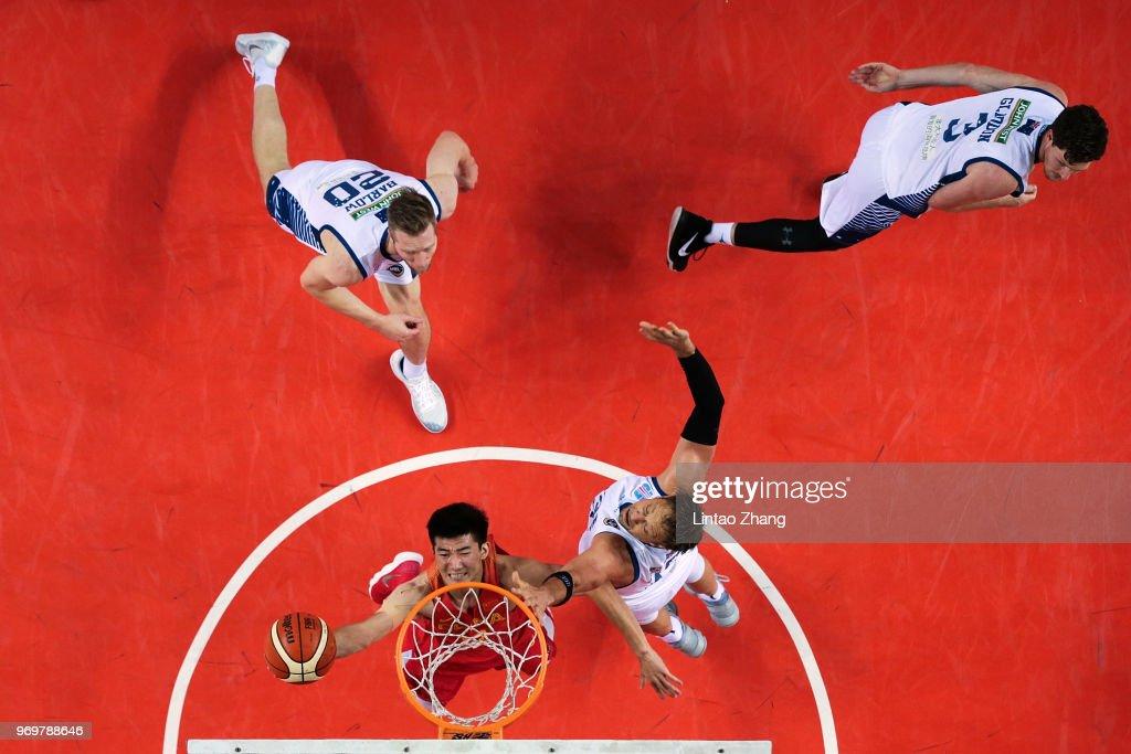 2018 China Australia International Men's Basketball Match - Jiyuan