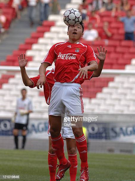 Yu Dabao during the Portuguese Under18 Championship match between SL Benfica and Sporting Lisbon on June 7 2007