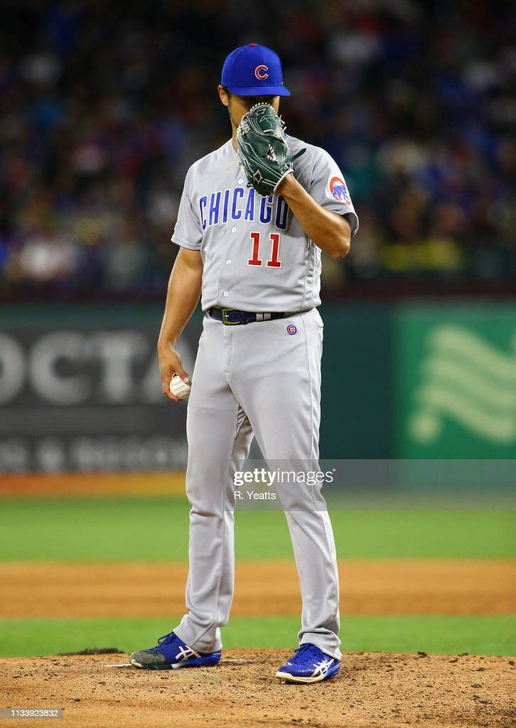 Chicago Cubs v Texas Rangers : News Photo