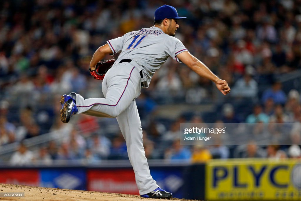Texas Rangers v New York Yankees : News Photo