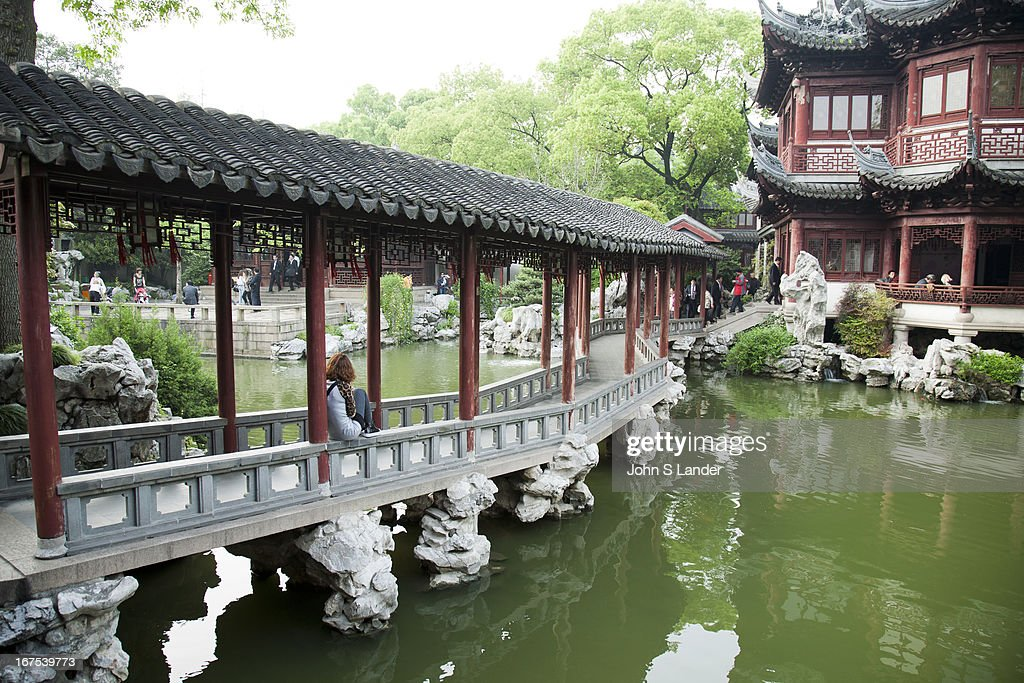 Suzhou - In a Chinese Garden Photos and Images | Getty Images
