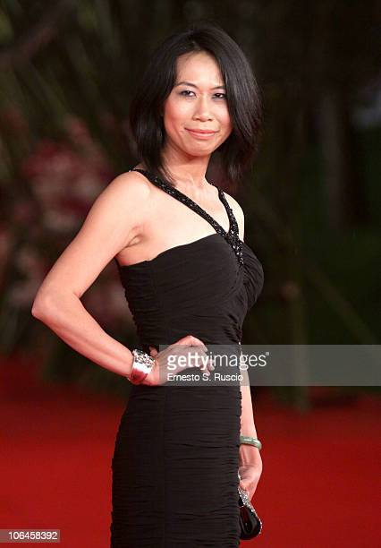 Yu Hsiu Camille Chen attends the Little Sparrows premiere during the 5th International Rome Film Festival at Auditorium Parco Della Musica on...