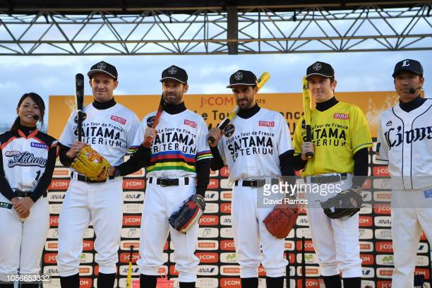 Yu Kato of Japan and Baseball Team Astraia Saitama Yukari Isozaki of Japan and Baseball Team Astraia Saitama Alexander Kristoff Norway and UAE Team...