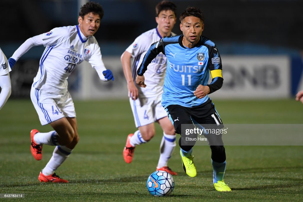 Kawasaki Frontale v Suwon Samsung Bluewings - AFC Champions League  Group G