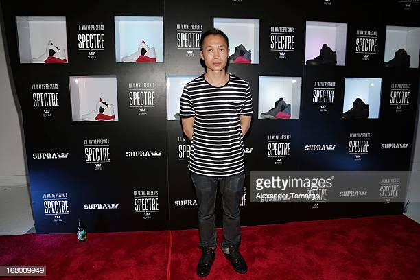 Yu Ming Wu attends as Lil Wayne Hosts SPECTRE By SUPRA Launch In Miami on May 3 2013 in Miami Florida