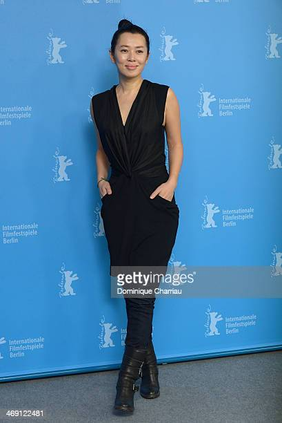 Yu Nan attends 'No Man's Land' photocall during 64th Berlinale International Film Festival at Grand Hyatt Hotel on February 13 2014 in Berlin Germany