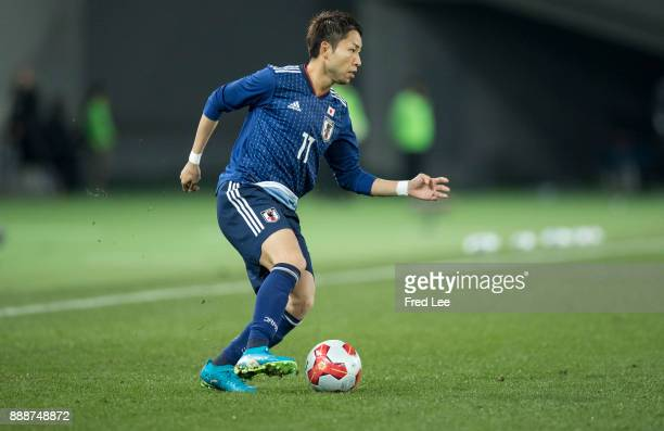 Yu of japan in action during the EAFF E1 Men's Football Championship between Japan and North Korea at Ajinomoto Stadium on December 9 2017 in Chofu...