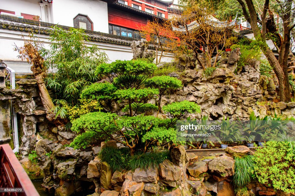 Yu Or Yuyuan Garden An Extensive Chinese Garden Located Old City Of ...