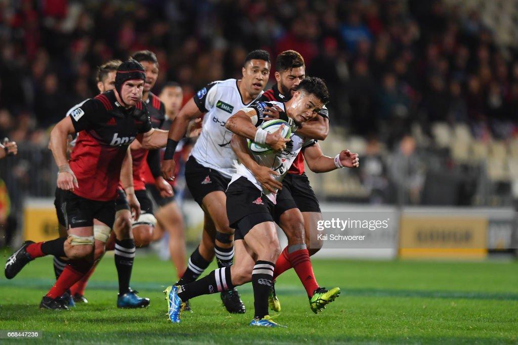 Super Rugby Rd 8 - Crusaders v Sunwolves