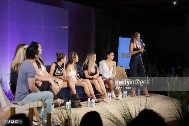 Yu Tsai MJ Day Erin Willerton Veronica Pome'e Jessica Aidi Brooks Nader Raine Michaels Manuela Alvarez Hernandez and Camille Kostek attend the Sports...