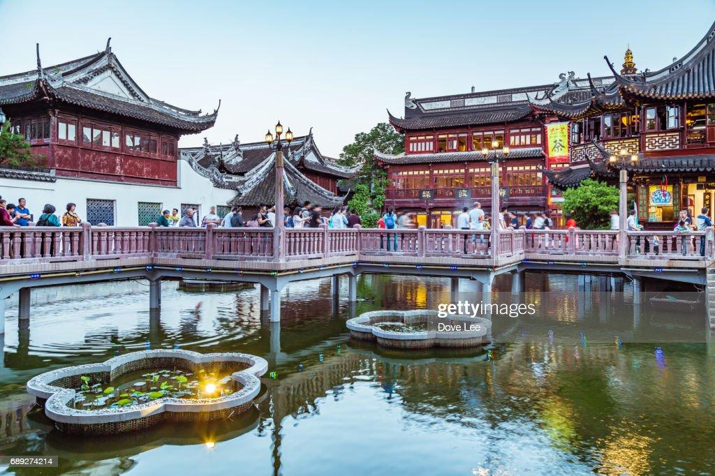 Yu Yuan Garden : Stock Photo