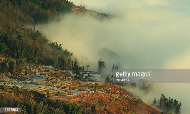 Yuanyang com Terraço campos