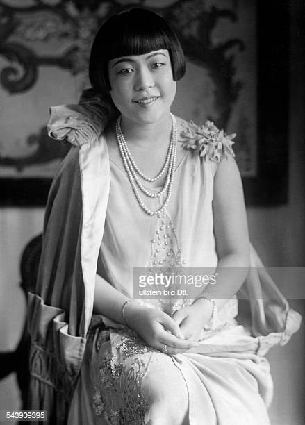 Yuasa Hatsue Actress Singer Japan undated Photographer Carl Fernstaedt Vintage property of ullstein bild