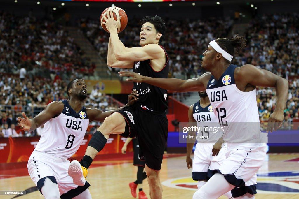 USA v Japan: Group E - FIBA World Cup 2019 : ニュース写真