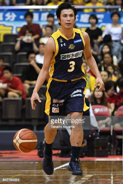 Yudai Maemura of the Tochigi Brex drives to the basket during the BLeague Kanto Early Cup 3rd place match between Kawasaki Brave Thunders and Tochigi...
