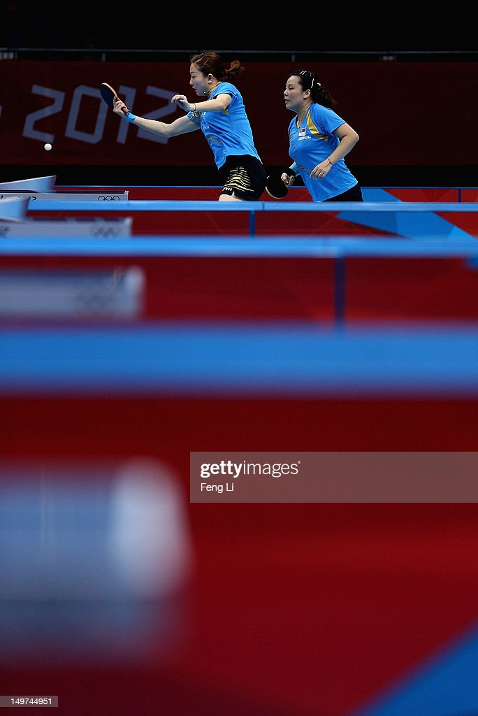 Olympics Day 7 - Table Tennis