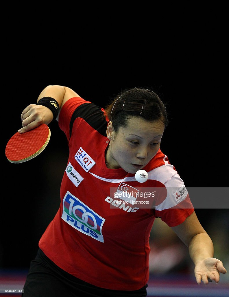 ITTF Pro Tour Table Tennis Grand Finals: Day One - LOCOG Test Event for London 2012