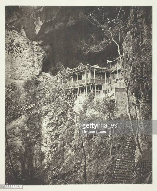 Yuenfu Monastery, circa 1868. A work made of collotype, pl. Xvii from the album 'illustrations of china and its people, volume ii' . Artist John...