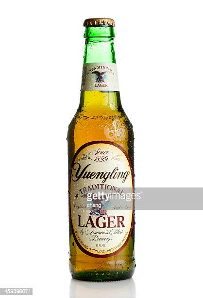 Yuengling Beer Bottle studio shot