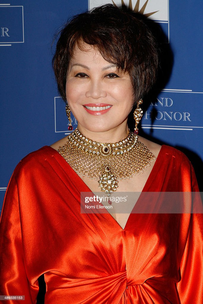 Yue-Sai Kan attends the 2014 Ellis Island Medals Of Honor at Ellis Island on May 10, 2014 in New York City.