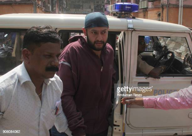 Yug Tuli coowner of Mojos Bistro outside N M Joshi Police station in connection with the Kamala mills fire that claimed the lives of 14 people on...