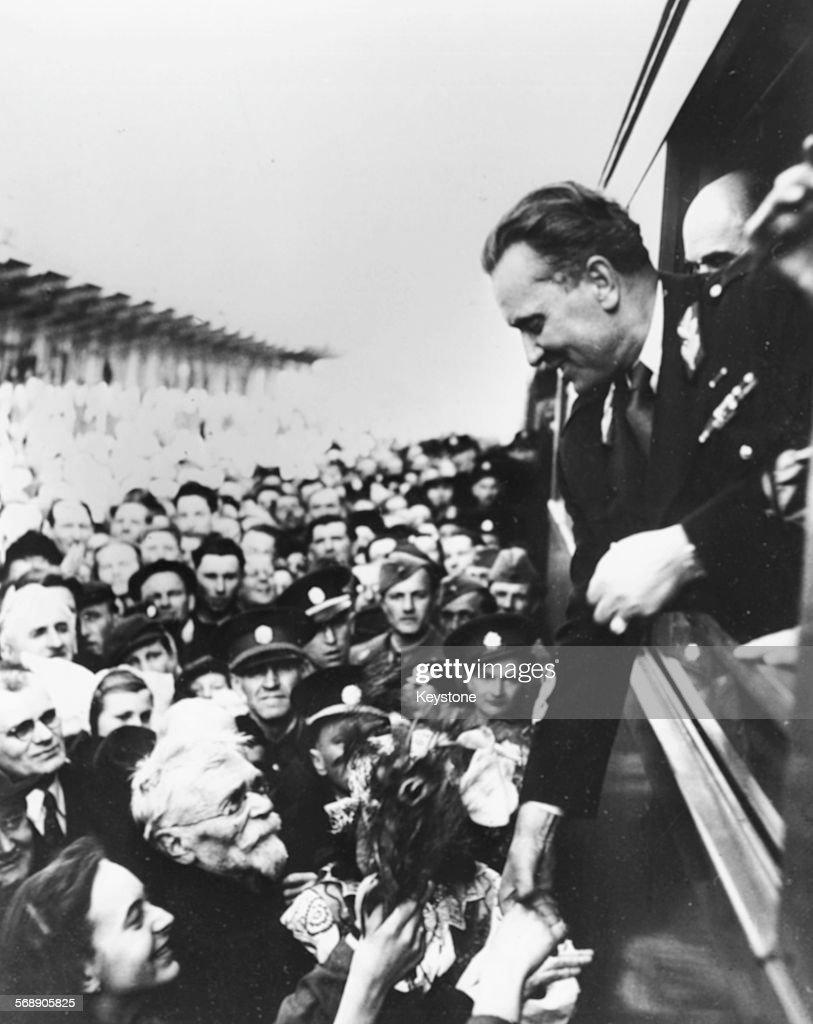 Josip Broz Tito : News Photo