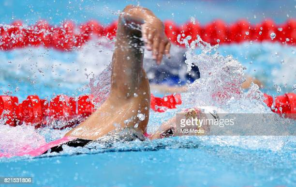 Yuhan Zhang during the Budapest 2017 FINA World Championships on July 23 2017 in Budapest Hungary