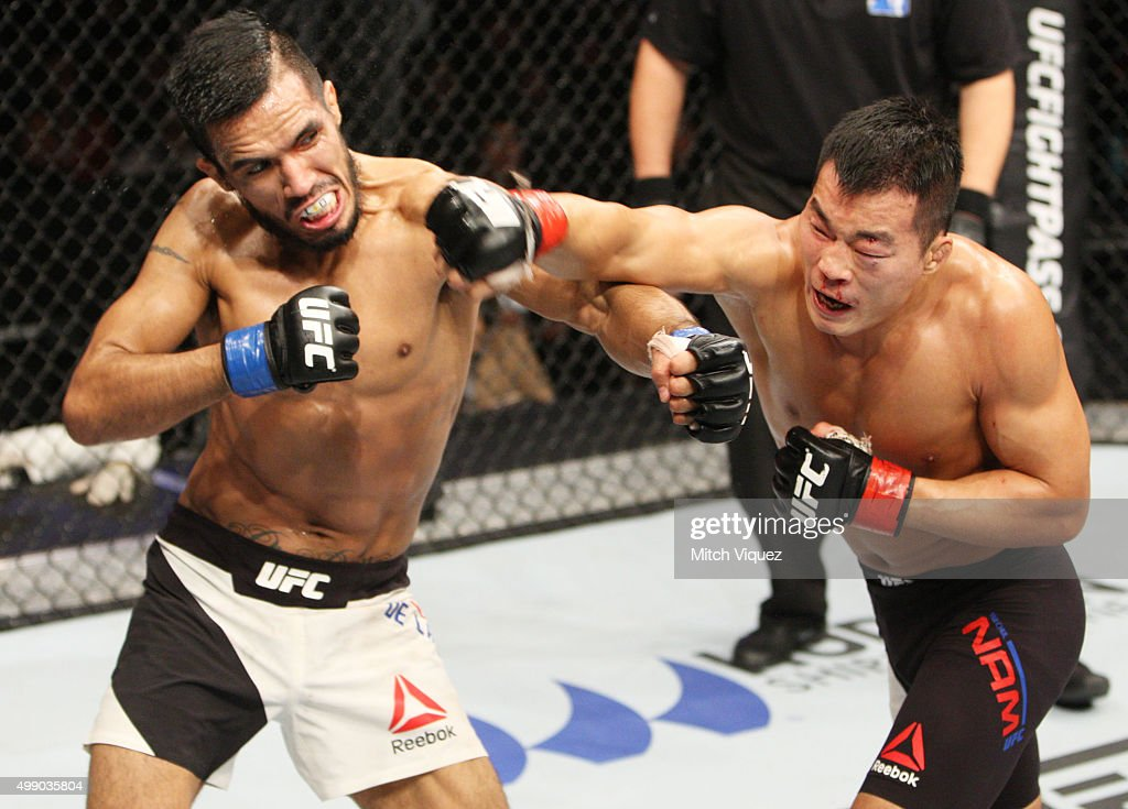 UFC Fight Night Korea: Jorge Mavidal v Benson Henderson : News Photo