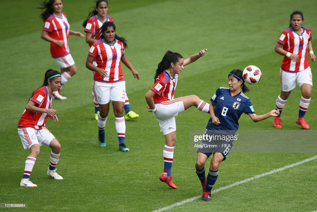 Japan v Paraguay: Group C - FIFA U-20 Women's  World Cup France 2018