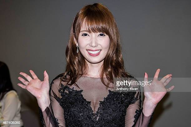 Yui Hatano of Japan attends the Action Taipei Press Conference during the 39th Hong Kong International Film Festival at Hong Kong Convention and...