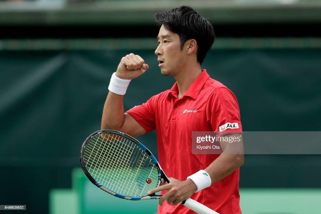 Japan v Brazil - Davis Cup World Group Play-off Day 4