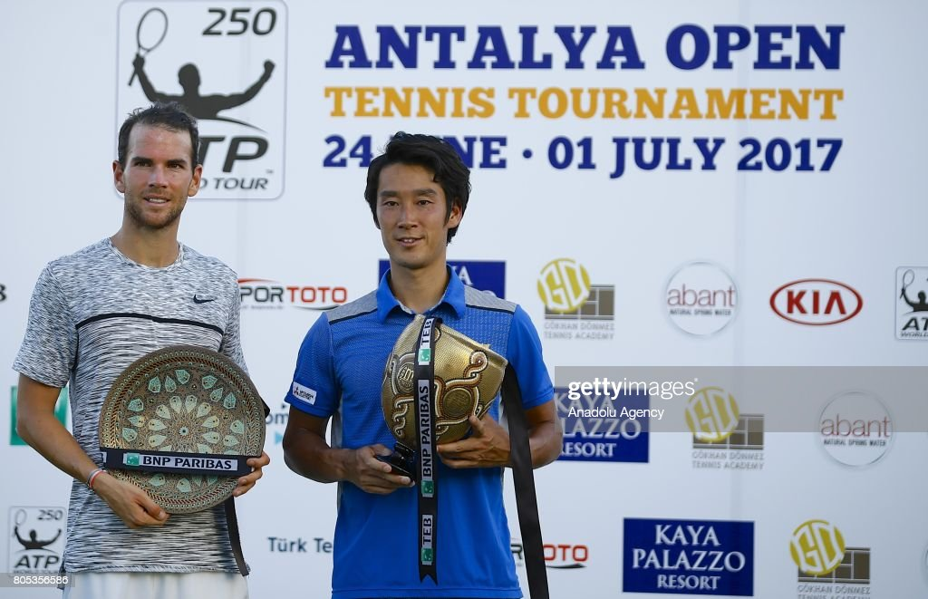 Tennis : ATP World Tour 250 Antalya Tournament : ニュース写真