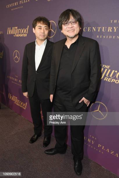 Yuichiro Saito and Mamoru Hosoda attend The Hollywood Reporter's 7th Annual Nominees Night presented by MercedesBenz Century Plaza Residences and...