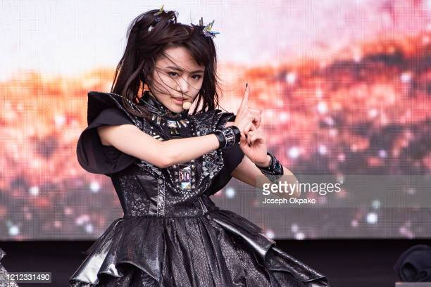 YuiMetal of Babymetal perform at The Other Stage during day five of Glastonbury Festival at Worthy Farm Pilton on June 30 2019 in Glastonbury England