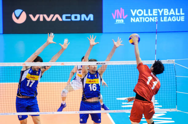 BGR: Japan v Italy - Mens Volleyball Nations League